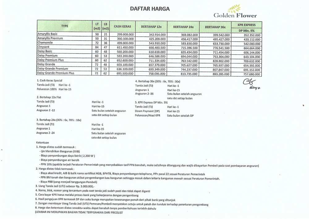 Daftar-harga-golden-flower-tangerang