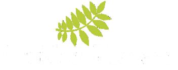 logo golden flower putih